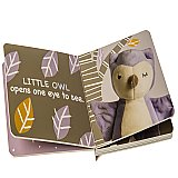 Mary Meyer Leika Little Owl Board Book